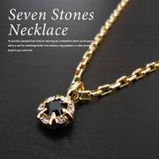 メンズ レディース ネックレス ゴールド seven stones necklace LEON Safari BITTER