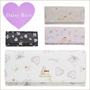 Daisy rico 可愛い財布 長財布 ふんわりカラー ラブリー かぶせ付ラウンドファスナー束入れ(DR2-8)