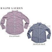 S) 【ポロ ラルフローレン】 672190 シャツ ワンポイント ポプリンシャツ 全2色 メンズ レディース