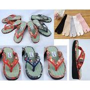 奈良県産 草履&足袋5色セット