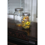 GLASS JAR WITH LED 蓋 穴あり