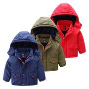 日 セール 児童 コットンコート アウターウェア 裏起毛 手厚い 赤ちゃん 冬服 新しい