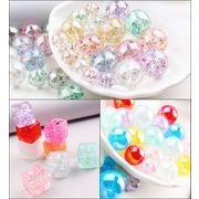 DIYカラー水晶玉*合金 ビーズ クリスタル ピアス ペンダント ハンドメイド