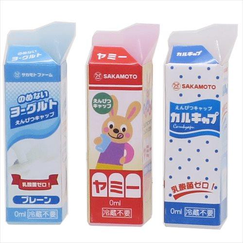 《新入学・新学期》紙パック パロディえんぴつカバー3本セット/乳酸菌