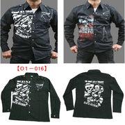 【即納OK】  ◆これぞパンクファッション★超かっこいい!!◆メンズPUNKシャツ★