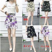 花柄ミニスカート 花柄スカート