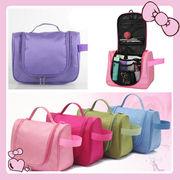 【激安】5色トラベルポーチ 旅行バッグ 化粧ポーチ 多機能収納 便利グッズ