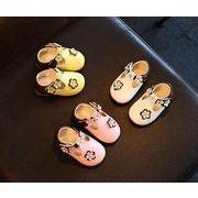 キッズ靴 サンダル 夏 子供靴 シューズ 花柄 選べる3色 0-3歳 ベビー靴 女の子