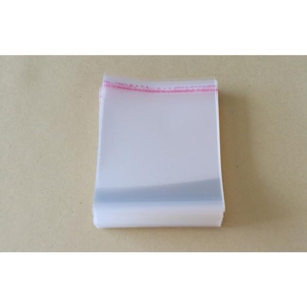 テープ付 梱包透明素材100枚入激安