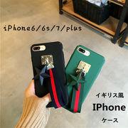 iPhoneケース ストラップ付きアイホンケース iPhone7 plusカバー
