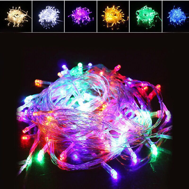 イルミネーションライトLED 10m 100球連結可クリスマスライト