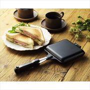 使っておいしいホットサンドメーカー /ホットサンド 直火 アウトドア 調理器具 キッチン