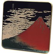 漆芸板蒔絵オルゴール 赤富士 SP487