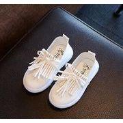 2018年新作【子供靴】★春秋★フリンジ★ランニングスニーカー★★2色21-30