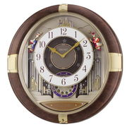 SEIKO セイコー 掛け時計 アナログ からくり トリプルセレクション RE816B