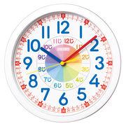 SEIKO セイコー 掛け時計 知育 アナログ 子供 白 KX617W