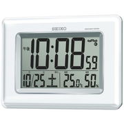 SEIKO セイコー 掛置兼用時計 電波 デジタル カレンダー SQ424Wセイコークロック