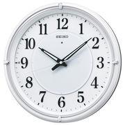 SEIKO セイコー 掛け時計 自動点灯 電波 アナログ 夜でも見える KX393W