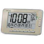 SEIKO セイコー 目覚まし時計 電波 デジタル アラーム 温度 湿度 SQ774G