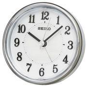 SEIKO セイコー 目覚まし時計 アナログ ELバックライト 白パール KR895W