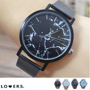 冬新作 大理石柄メタルウォッチ 【即納】アクセサリー 時計 レディース 腕時計