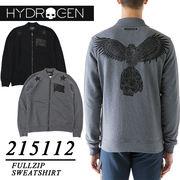 ★大特価★HYDROGEN ハイドロゲン 両面デザイン スウェットボンバージャケット<ラスト5点>