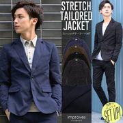 【improves】ナチュラルストレッチテーラードジャケット