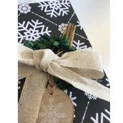 《即納》包装 紐 リボン ラッピング ナチュラル 葉 ギフト プレゼント オリジナル セット ハンドメイド