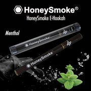 使い捨て電子タバコ・ハニースモーク(Honey Smoke)・メンソール・木目調