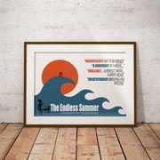 【ブルース・ブラウンフィルム】A3ポスター・The Endless Summer (エンドレスサマー)・ウェーブ