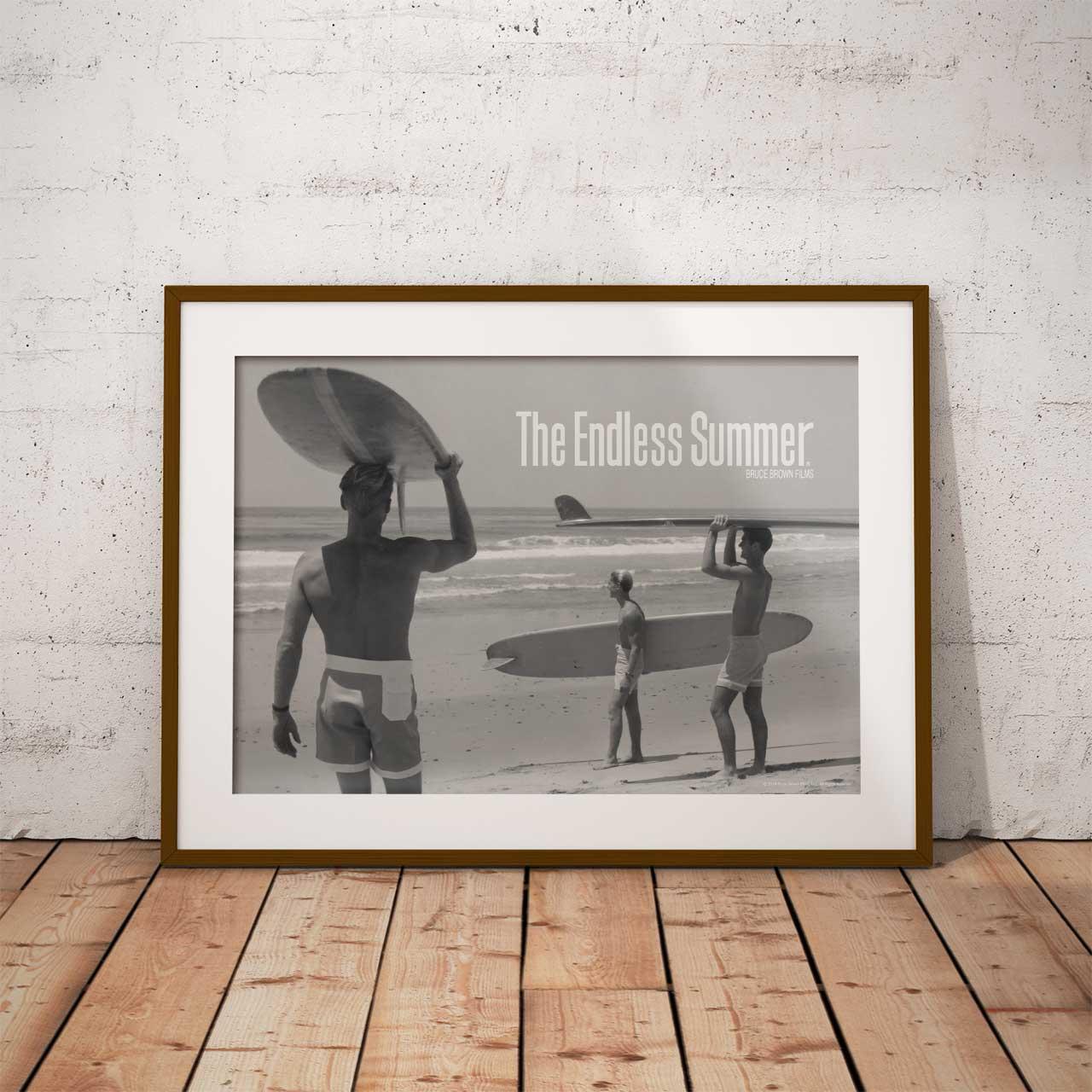 【ブルース・ブラウンフィルム】A3ポスター・The Endless Summer (エンドレスサマー)・モノ1