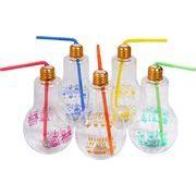 ミニオンズ光る電球ボトル500ml SY-2368