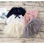 キッズ 子供 女の子 ミニ スカート チュールスカート ダンス 5色