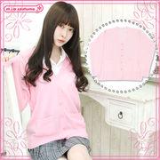 ■送料無料■ ニットカーディガン単品 色:ピンク サイズ:M/BIG