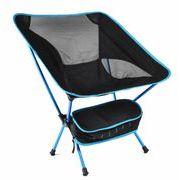超軽量スツール いす 中型アウトドアチェア 折畳式携帯椅子 収納バッグ付き 野外登山 キャンプ用