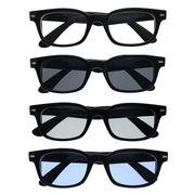 ★sunglasses&optical★  ウェリントン  ライトカラ―レンズ  サングラス【全4色】