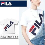 ◇2018春夏新作◇FILA フィラ メンズ センター BIGロゴ プリントTシャツ<ラスト5点>