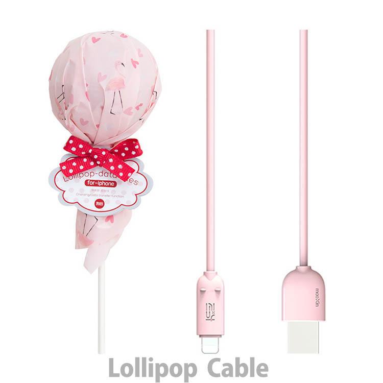 SNS映えUSBケーブル 充電転送 キャンディ可愛いスマホ充電 2.4A (3種計36本セット) 1m /