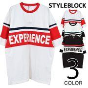 BIG切り替えプリントTシャツ/sb-275706