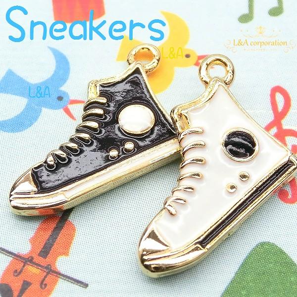 "▼SALE▼★L&A Original charm★かわいいシューズチャーム★煌めく★K16GP★184 ""sneakers"""
