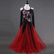 社交ダンスドレス/ モダンドレス ラテンドレス 競技ドレス 189