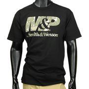 スミス&ウェッソン 半袖Tシャツ M&P Digital Camo Logo 14mps024