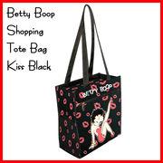 ベティーブープ ショッピング トートバッグ KISS BLACK