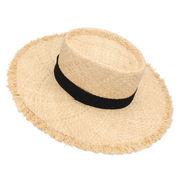 UVカット UV 紫外線対策 帽子 レディース つば広 キャペリン 麦わら帽子 女優帽