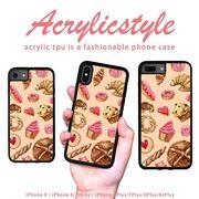 iPhone 7 8 X ケース パン スイーツ 焼き菓子 かわいい
