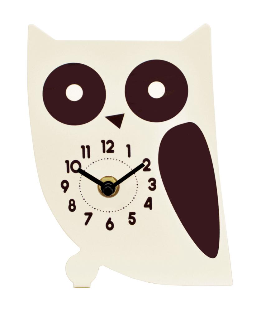 オブジェクロック(フクロウの置時計)【 ディアキャッツシリーズ 】