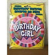 JUMBO BIRTHDAY BUTTON バースデイジャンボバッチ