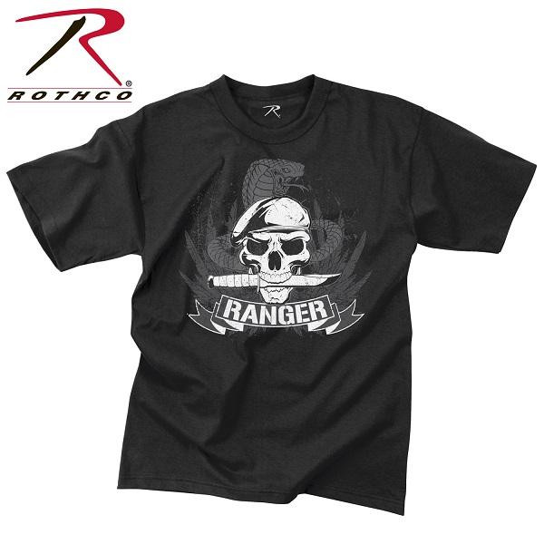 ROTHCO ロスコ ビンテージ・グラフィックプリント Tシャツ ドクロ スカル レンジャー USA アメリカ直輸入