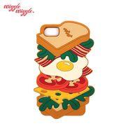 【Wiggle Wiggle 正規品】 [iPhone8対応] iPhone7 6S 6 シリコンケース (sandwich) サンドイッチ