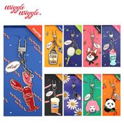 【Wiggle Wiggle】 KEYRING キーリング キーチャーム バッグチャーム ウィッグル 韓国